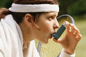 آسم در ورزشکاران